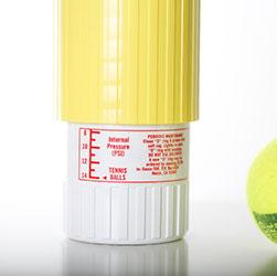 Tennis Ball Saver - la graduación de presión